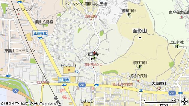 〒680-0854 鳥取県鳥取市正蓮寺の地図