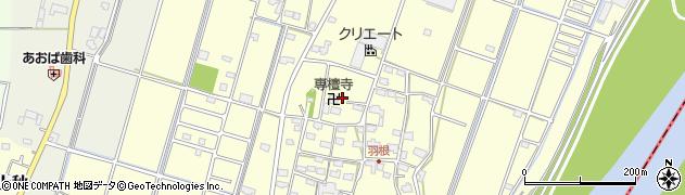 専檀寺周辺の地図