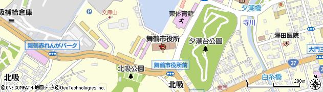 京都府舞鶴市周辺の地図