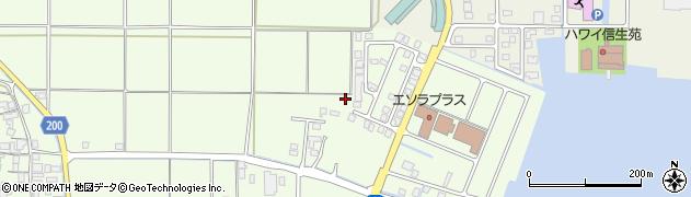 鳥取県湯梨浜町(東伯郡)長江周辺の地図