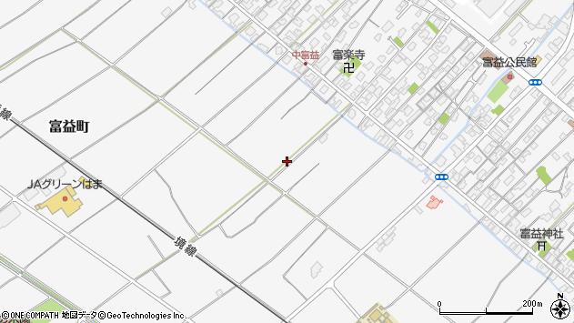 〒683-0103 鳥取県米子市富益町の地図