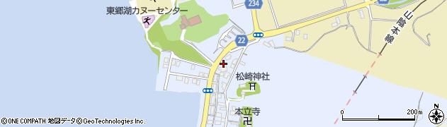 鳥取県湯梨浜町(東伯郡)松崎周辺の地図