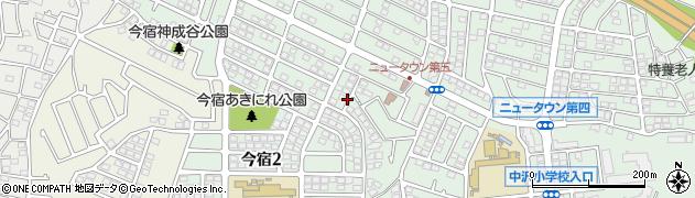 神奈川県横浜市旭区今宿周辺の地図
