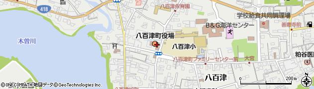 岐阜県加茂郡八百津町周辺の地図