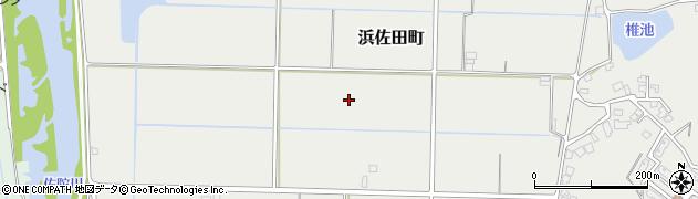 島根県松江市浜佐田町周辺の地図