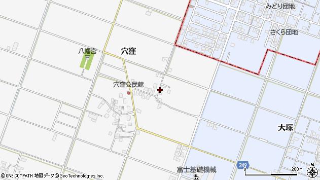 〒682-0001 鳥取県倉吉市穴窪の地図