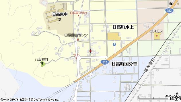 〒669-5306 兵庫県豊岡市日高町水上の地図