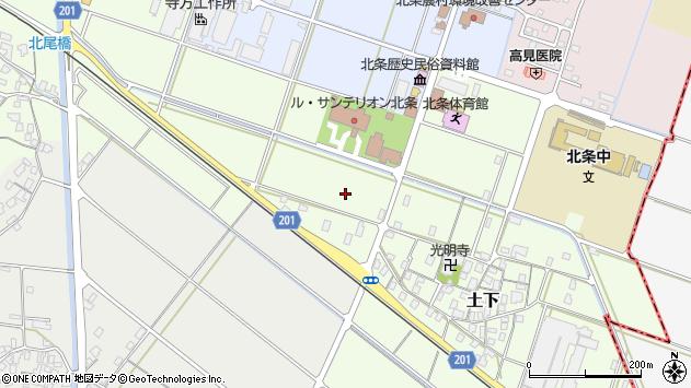 〒689-2111 鳥取県東伯郡北栄町土下の地図