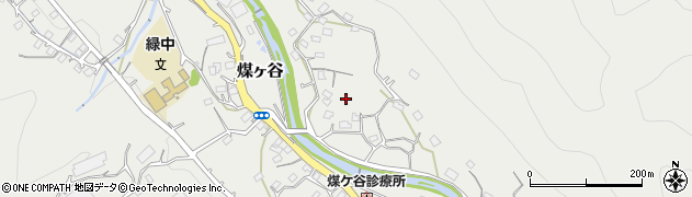 神奈川県清川村(愛甲郡)煤ヶ谷周辺の地図