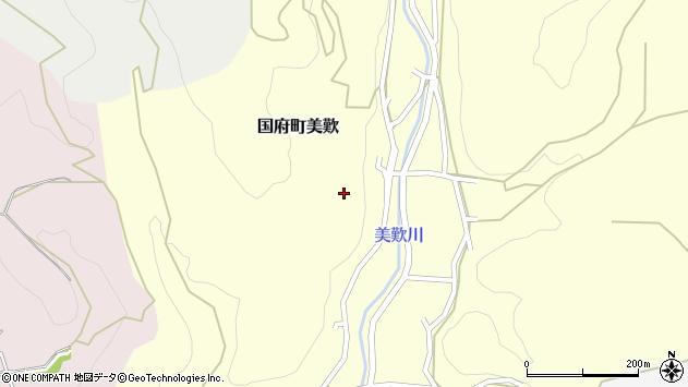 〒680-0141 鳥取県鳥取市国府町美歎の地図