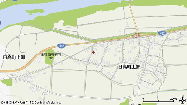 〒669-5324 兵庫県豊岡市日高町上郷の地図