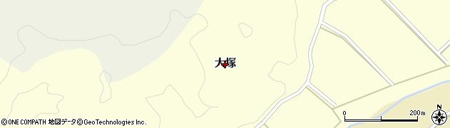鳥取県鳥取市大塚周辺の地図