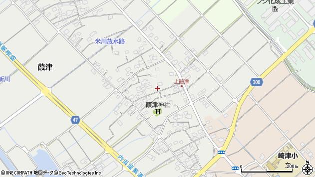 〒683-0105 鳥取県米子市葭津の地図