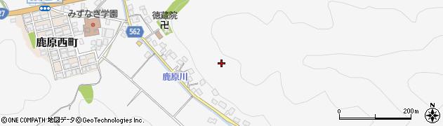 京都府舞鶴市鹿原周辺の地図