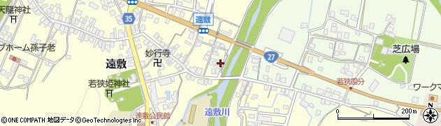 福井県小浜市中村周辺の地図