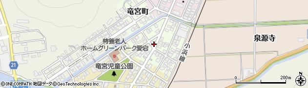京都府舞鶴市愛宕下町周辺の地図