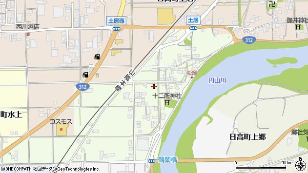 〒669-5307 兵庫県豊岡市日高町松岡の地図