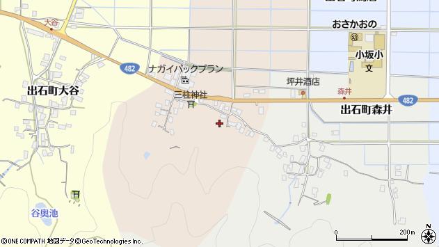 〒668-0277 兵庫県豊岡市出石町丸中の地図
