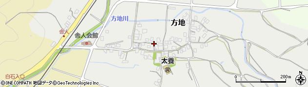 鳥取県湯梨浜町(東伯郡)方地周辺の地図