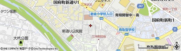 サン周辺の地図
