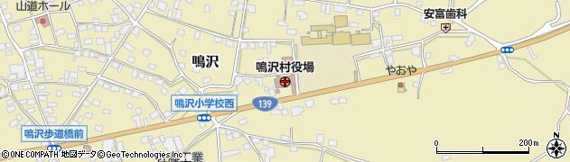 山梨県鳴沢村(南都留郡)周辺の地図