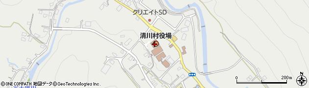 神奈川県清川村(愛甲郡)周辺の地図