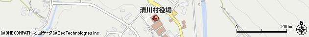 神奈川県愛甲郡清川村周辺の地図