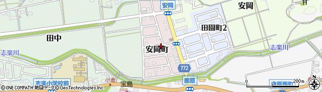 京都府舞鶴市安岡町周辺の地図