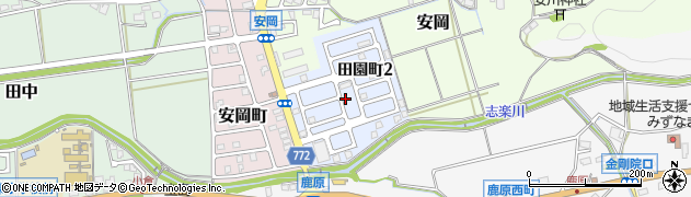 京都府舞鶴市田園町周辺の地図