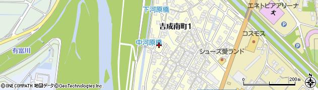 鳥取県鳥取市吉成南町周辺の地図