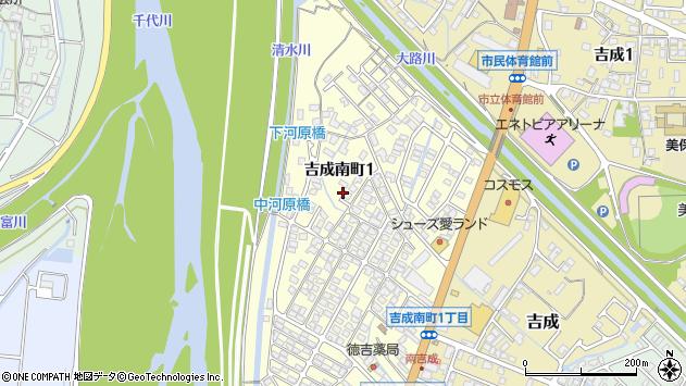 〒680-0871 鳥取県鳥取市吉成南町の地図
