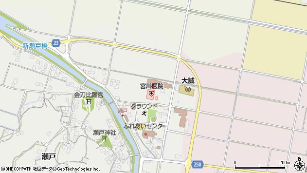 〒689-2205 鳥取県東伯郡北栄町瀬戸の地図