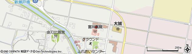 鳥取県北栄町(東伯郡)瀬戸周辺の地図