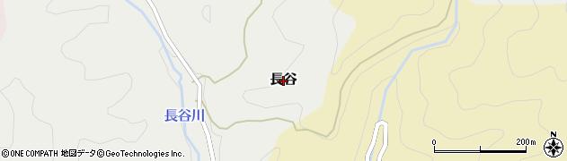 京都府舞鶴市長谷周辺の地図
