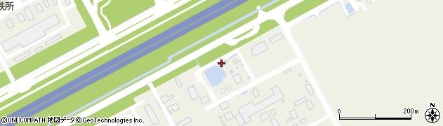 神奈川県川崎市川崎区扇島周辺の地図
