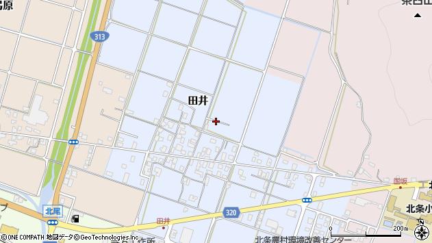 〒689-2103 鳥取県東伯郡北栄町田井の地図