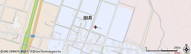 鳥取県北栄町(東伯郡)田井周辺の地図