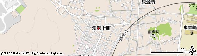 京都府舞鶴市愛宕上町周辺の地図