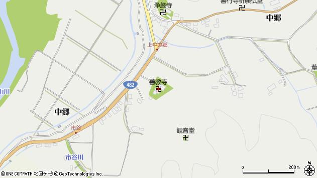〒668-0842 兵庫県豊岡市中郷の地図