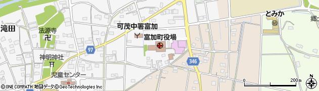 岐阜県加茂郡富加町周辺の地図