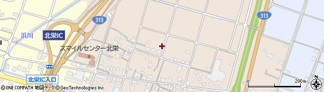 鳥取県北栄町(東伯郡)弓原周辺の地図