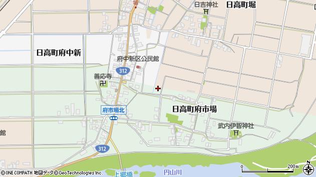 〒669-5322 兵庫県豊岡市日高町府市場の地図