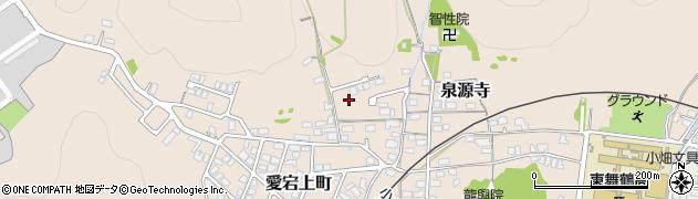 京都府舞鶴市泉源寺周辺の地図