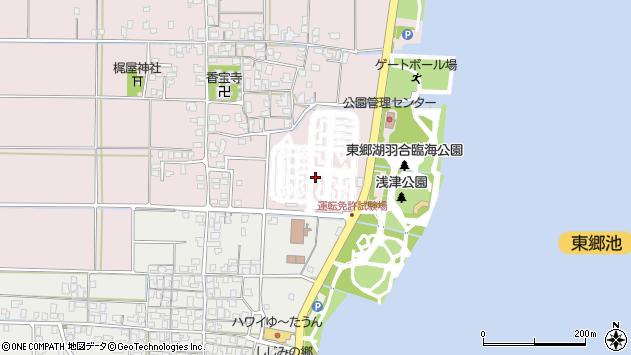 〒682-0711 鳥取県東伯郡湯梨浜町下浅津の地図