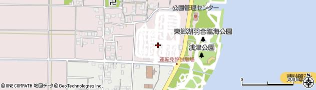 鳥取県湯梨浜町(東伯郡)下浅津周辺の地図