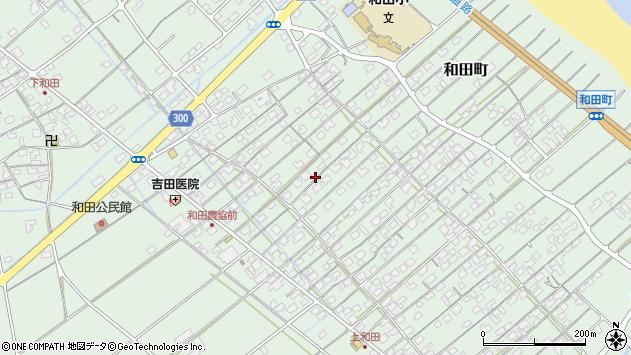〒683-0102 鳥取県米子市和田町の地図