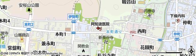 岐阜県関市出来町周辺の地図