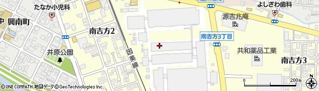 鳥取県鳥取市南吉方周辺の地図