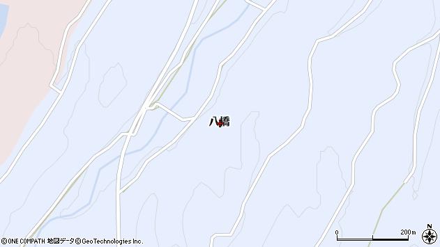 〒689-2301 鳥取県東伯郡琴浦町八橋の地図