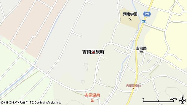 〒680-1442 鳥取県鳥取市吉岡温泉町の地図